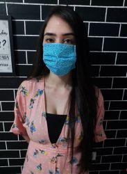 Máscaras  Estampada (Modelo Cirúrgico)