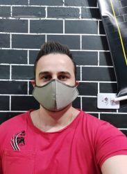 Máscara de Proteção Curvada